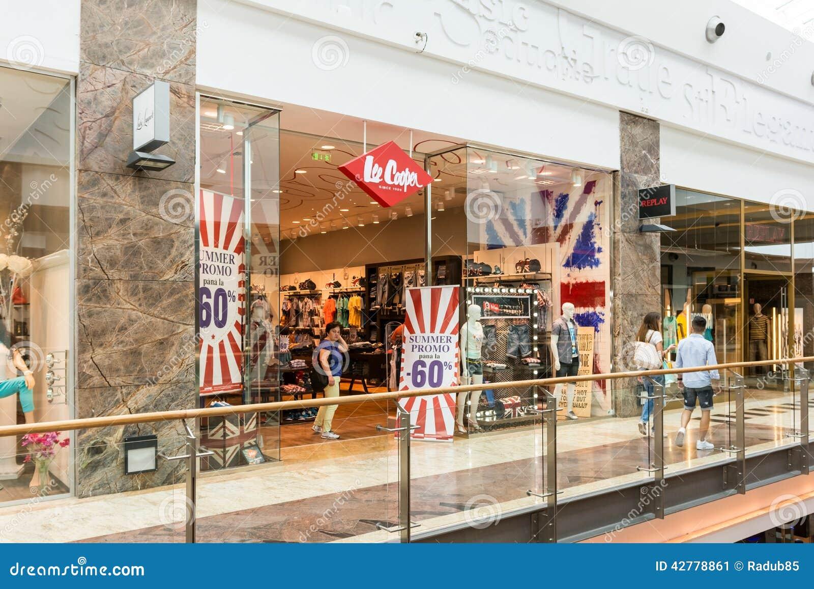 British clothes stores