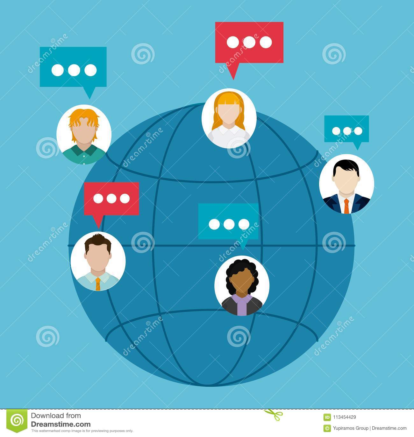 Chat around the world