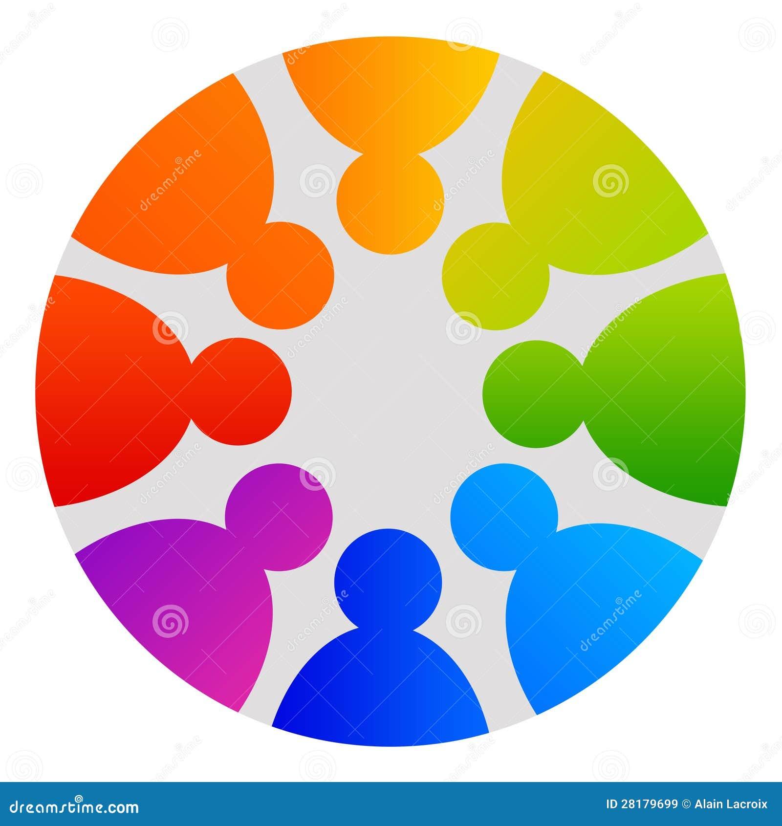 People Circle Royalty Free Stock Images - Image: 28179699
