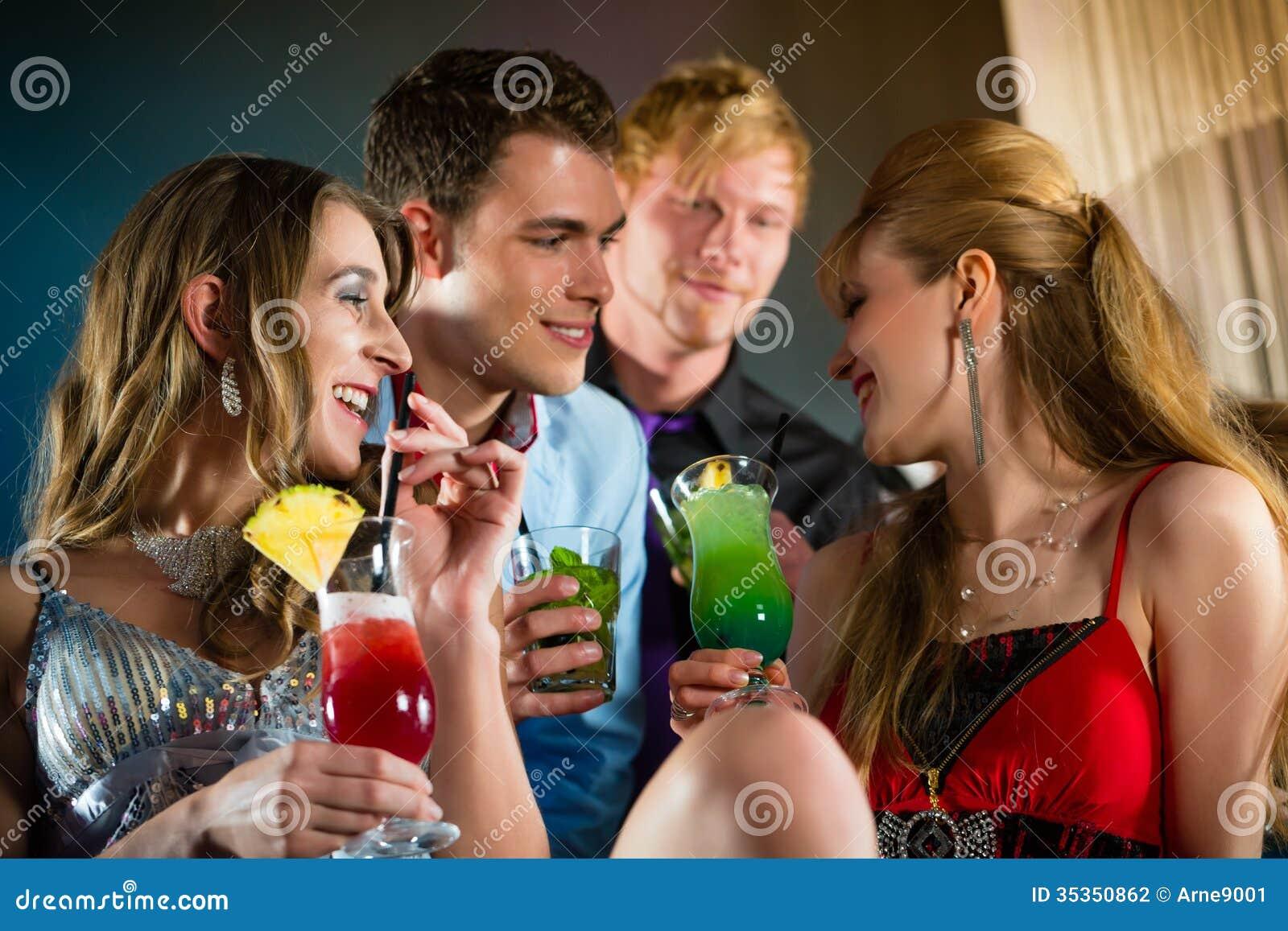 Young People Having Fun In Nightclub Stock Photos - Image ...  |People Having Fun In A Club