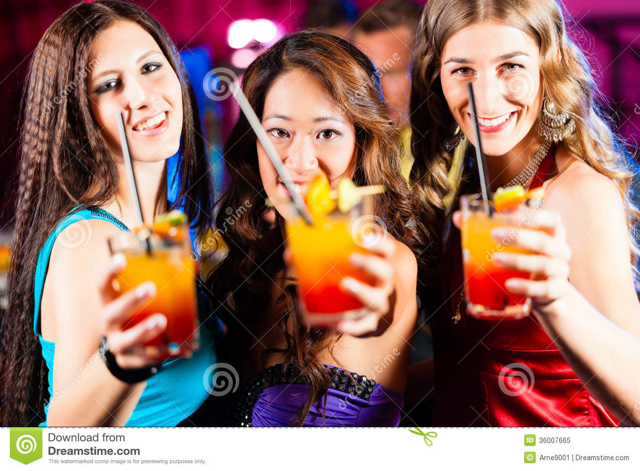 Group Of People Having Fun In Busy Bar Stock Image - Image ...  |People Having Fun In A Club