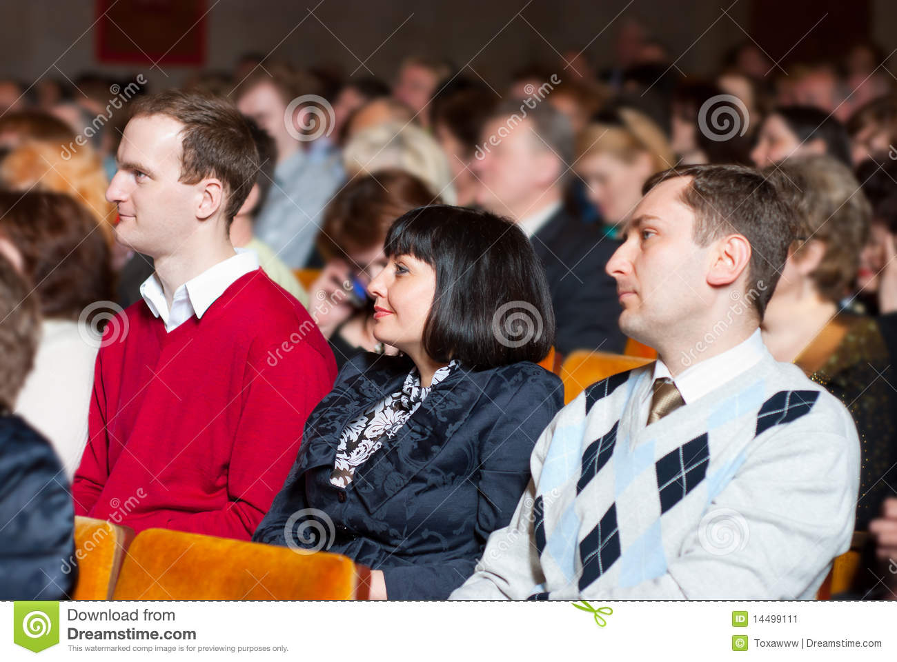People at the conference