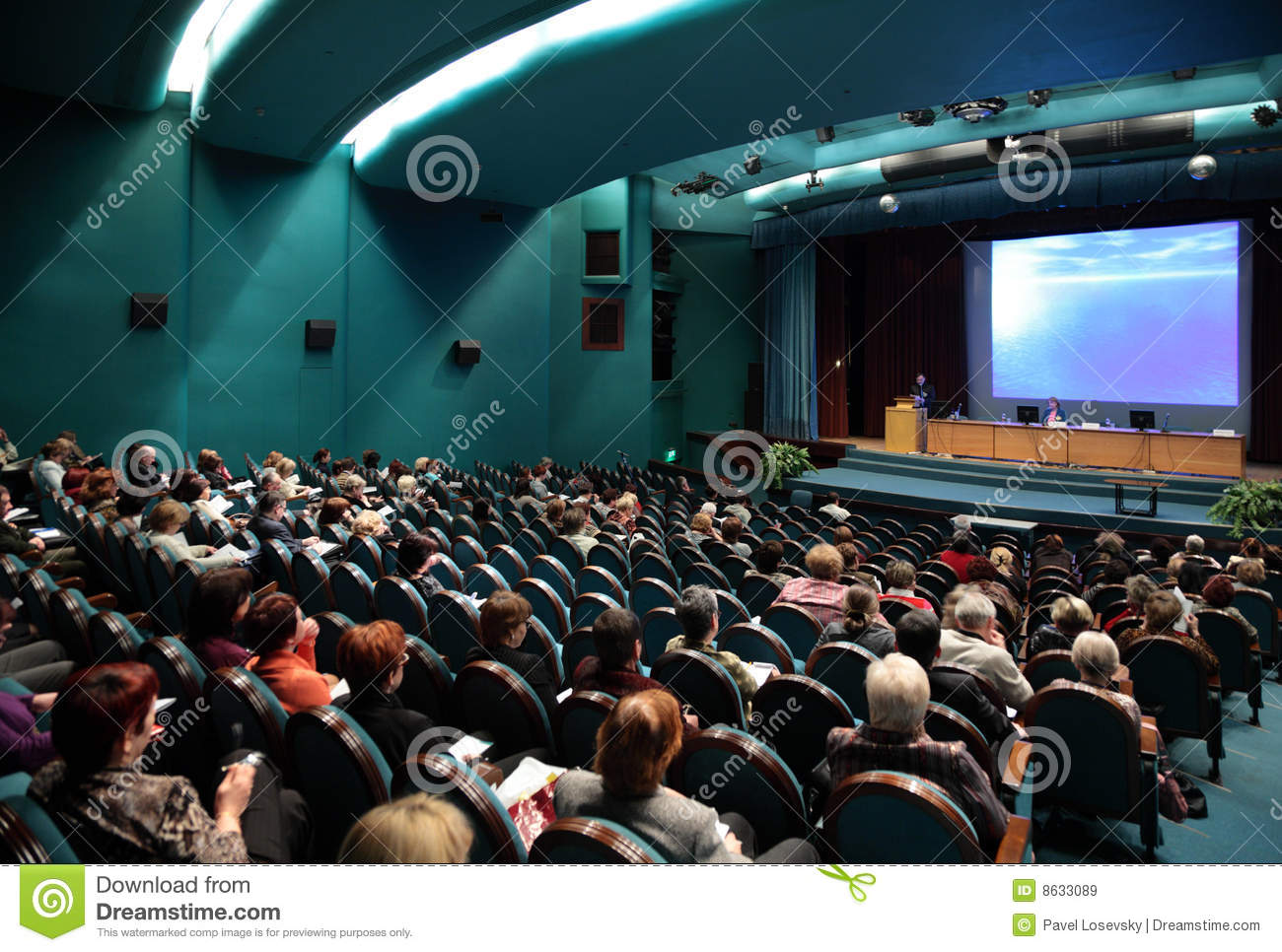 Download People on conference editorial stock image. Image of listen - 8633089