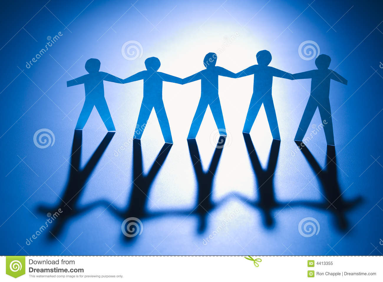 People Connected Royalty Free Stock Photo - Image: 4413355