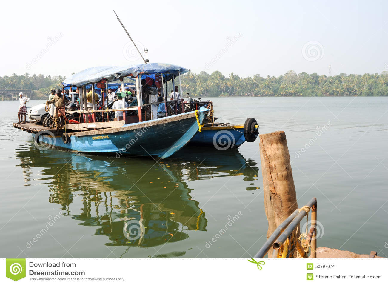 Kollam India  city photos gallery : ... river backwaters ferry kollam india january kollam india 50997074