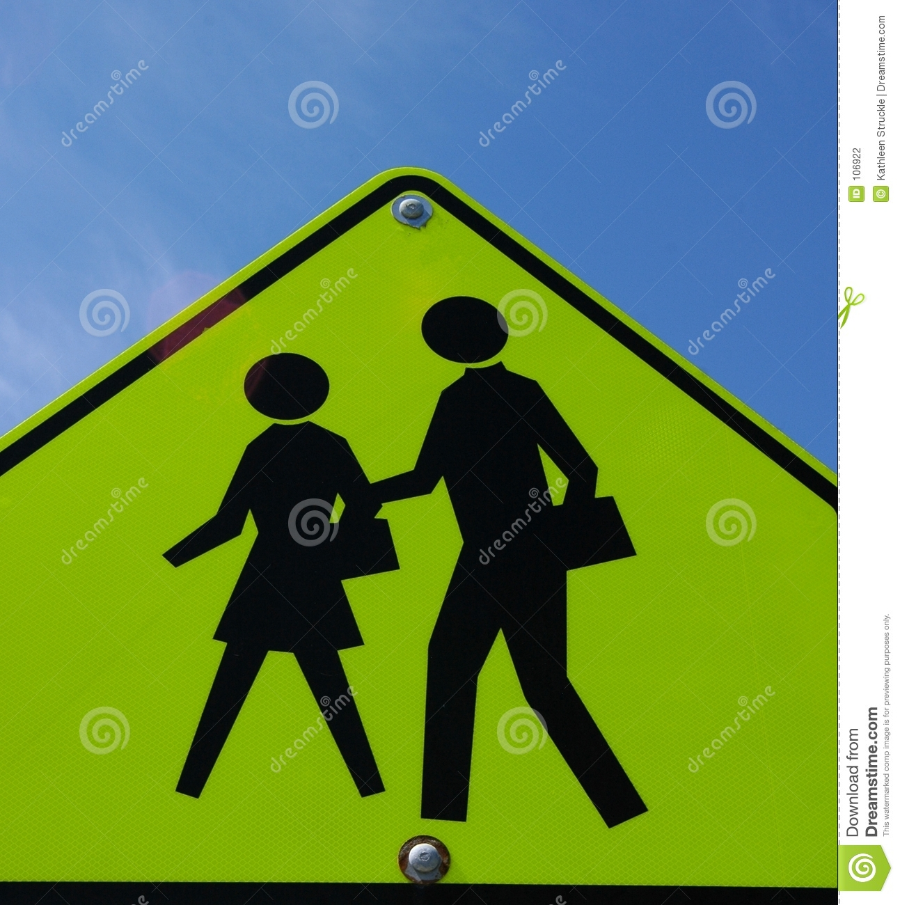 People Crossing Sign