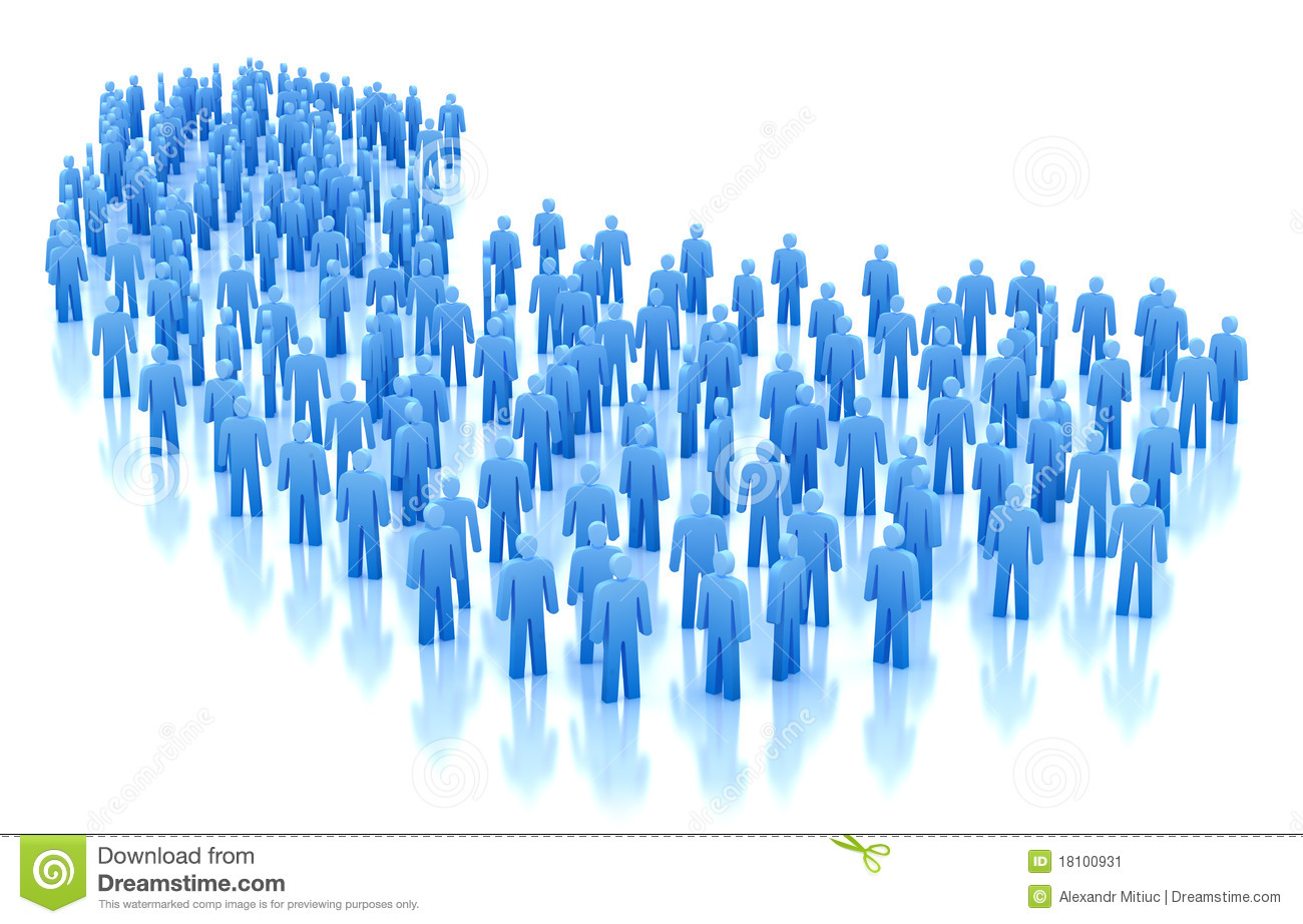 People Crowd Concept Stock Image - Image: 18100931
