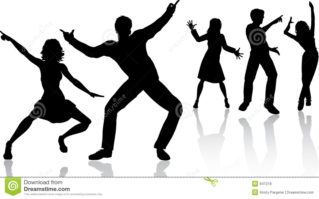 People Dancing Royalty Free Stock Photos - Image: 941218