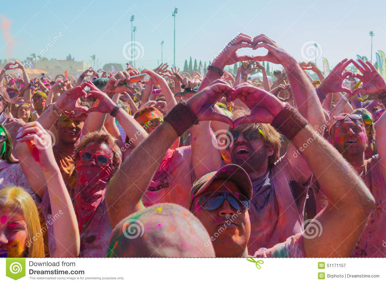 Pollution form during holi festival