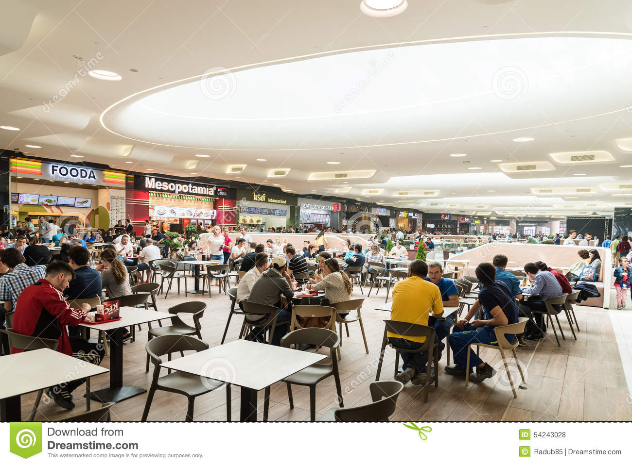 Restaurants, cafes, shopping centers: a selection of sites