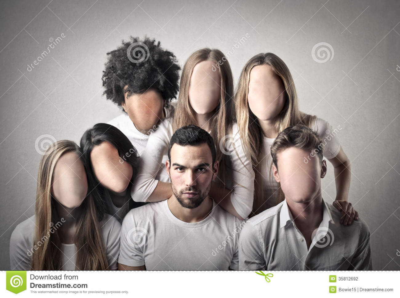 People Without Faces Stock Photography - Image 35812692-4435