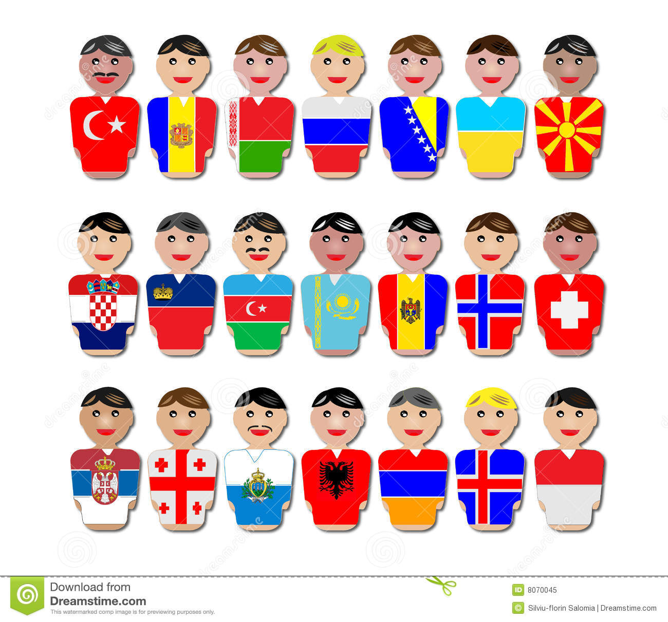 people and flags from europe royalty free stock photo Nervous Girl Clip Art Free Nervous Image Free