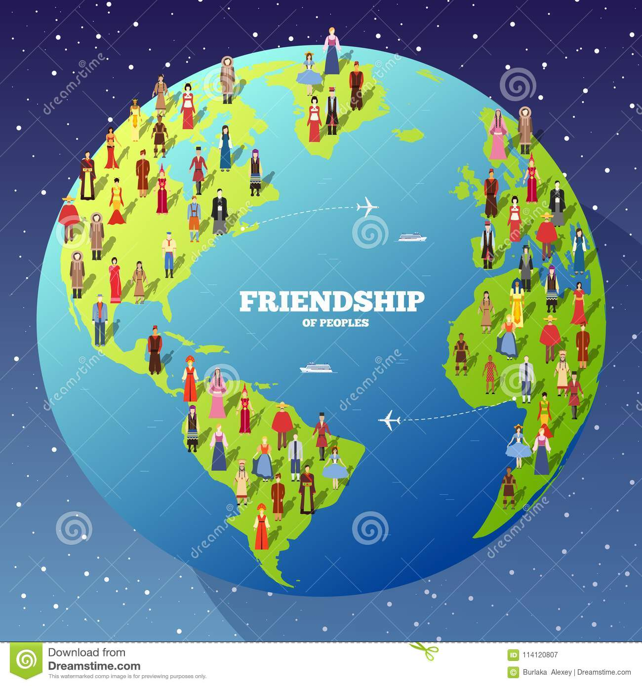 People friendship international day of the world indigenous peoples people friendship international day of the world indigenous peoples vector flat circle concept illustration concept gumiabroncs Gallery