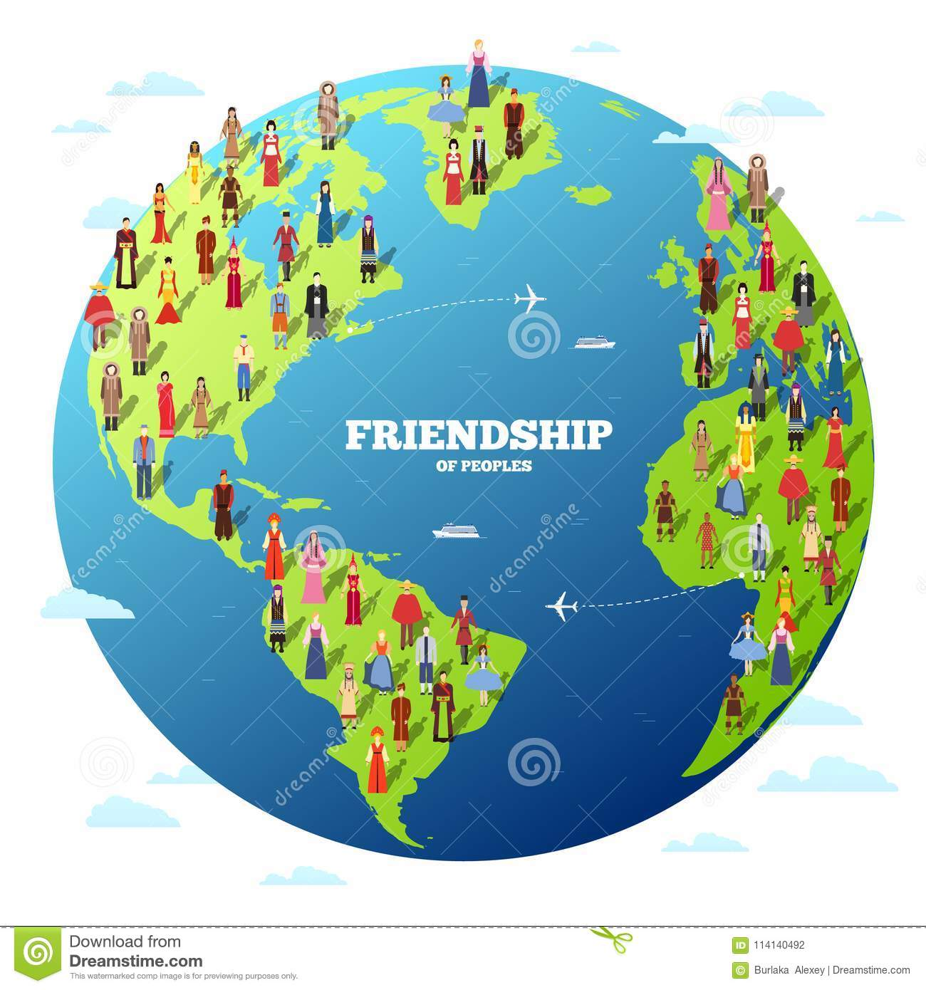 People friendship international day of the world indigenous peoples royalty free stock photo gumiabroncs Gallery