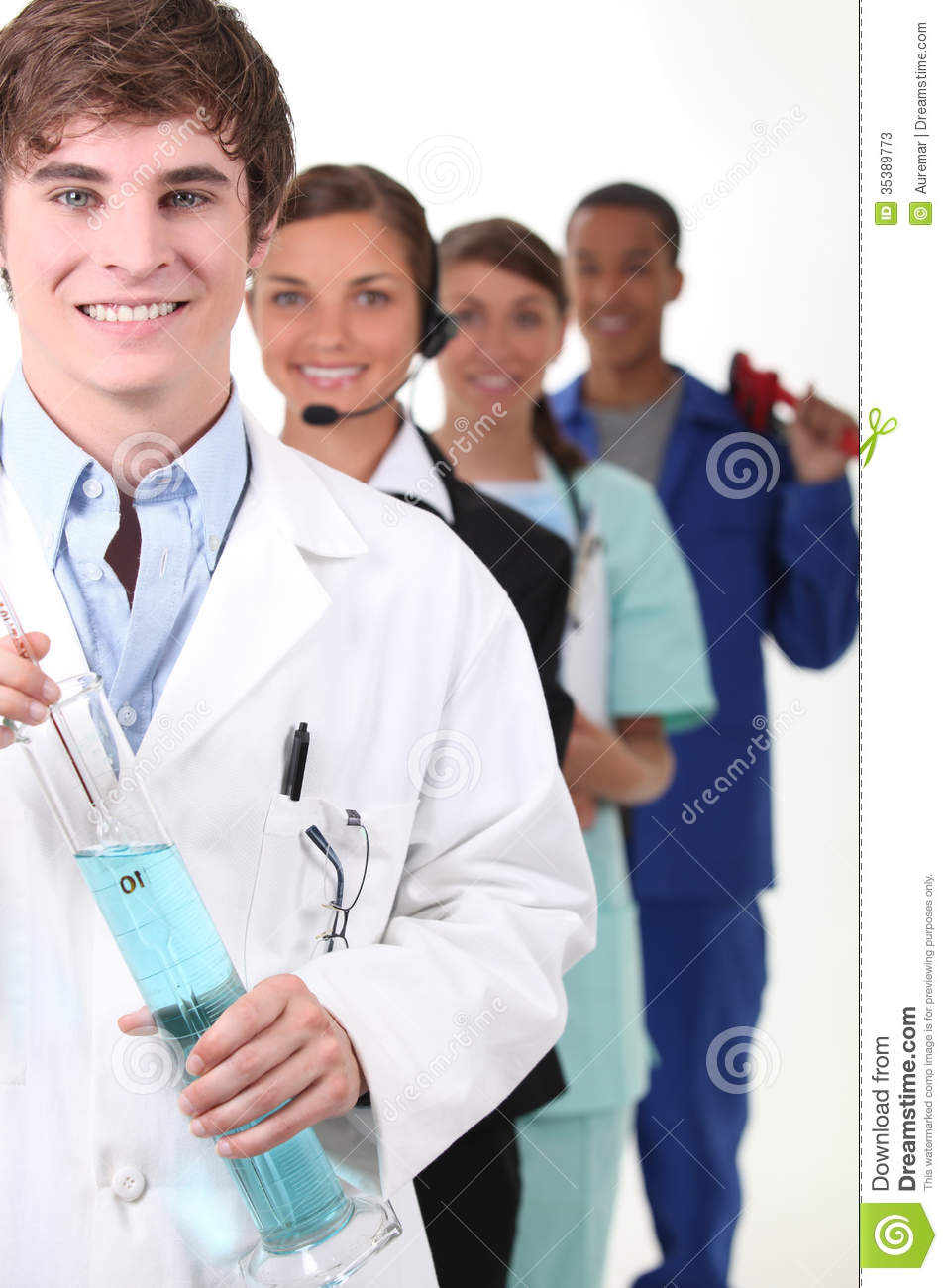 People Occupations Jobs And Community At: People With Fulfilling Careers Stock Photos