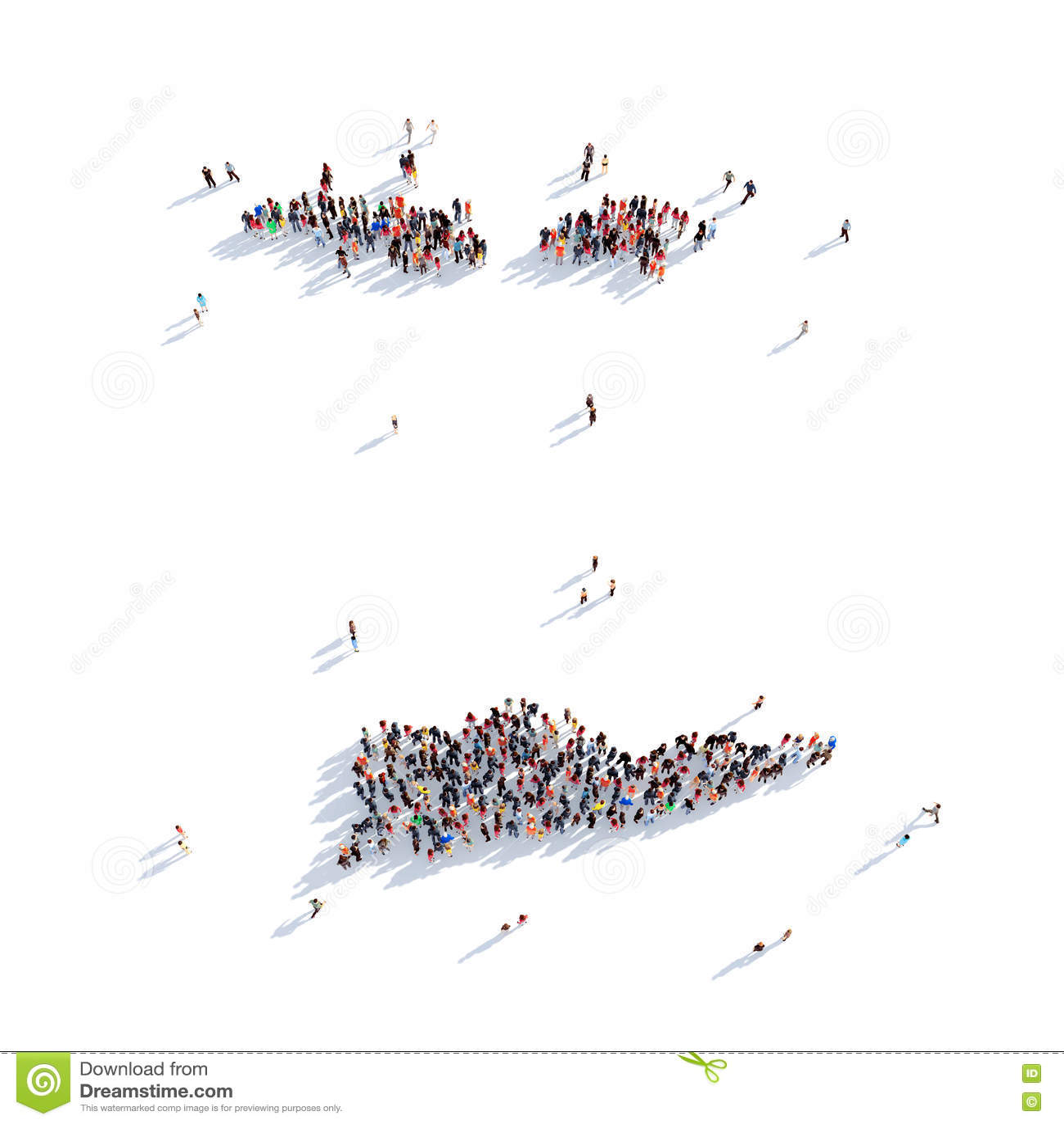 People Group Shape Map Us Virgin Islands Stock Photo Image Of - Large-map-of-us-virgin-islands