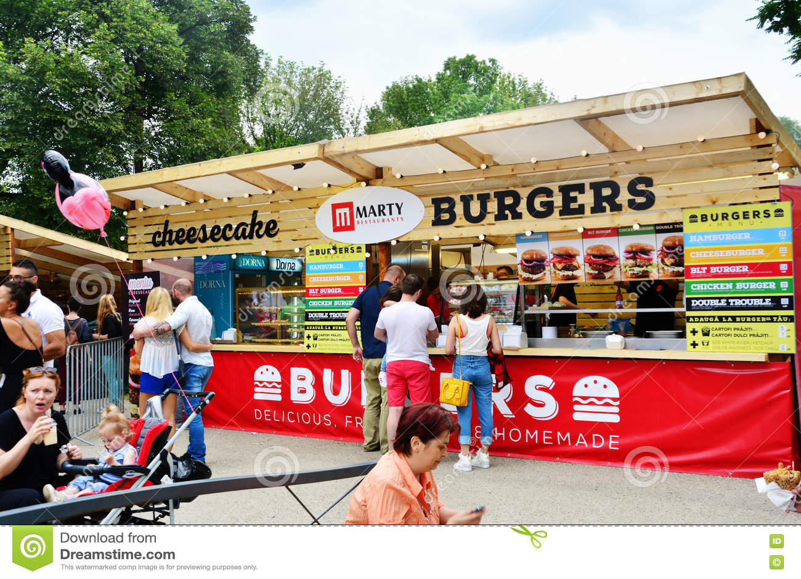 Street Fair Food Vendors