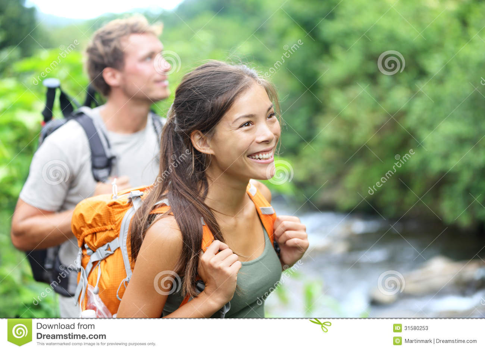 People Hiking - Happy Hiker Couple On Hawaii Stock Photos ... Wailuku Map
