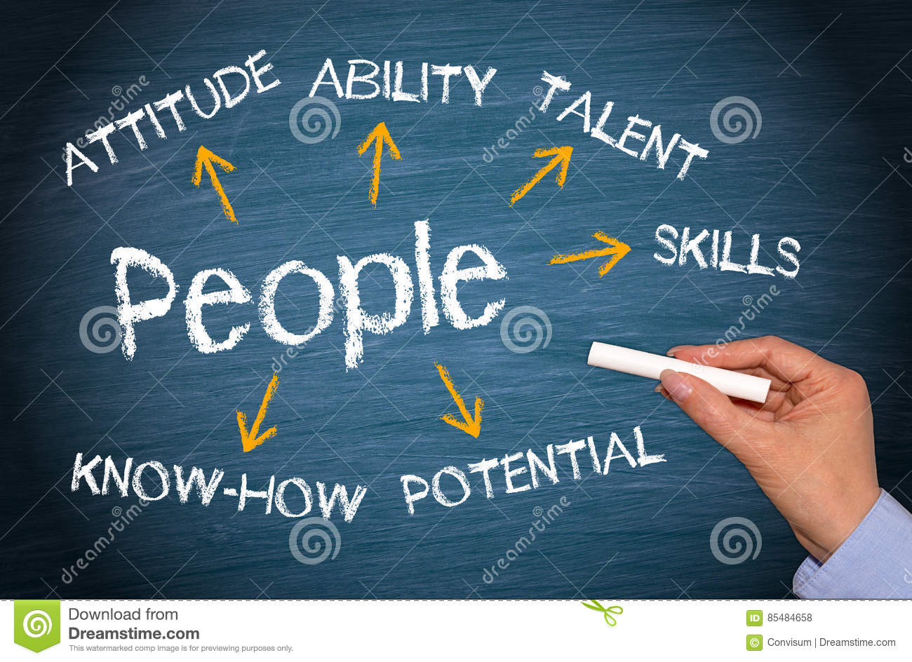 People Human Resources Management Stock Photo