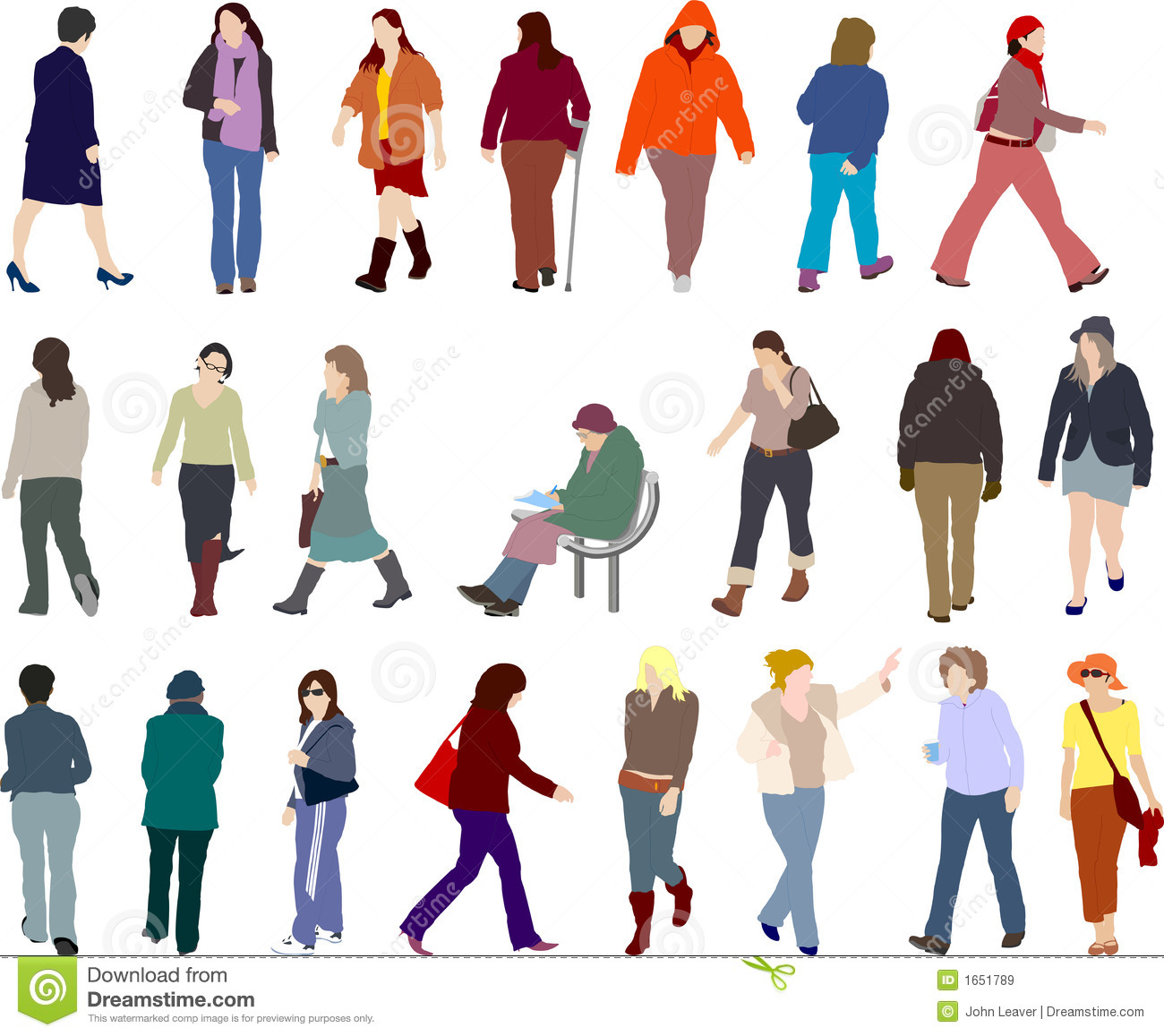 People Illustrations Royalty Free Stock Images - Image ...