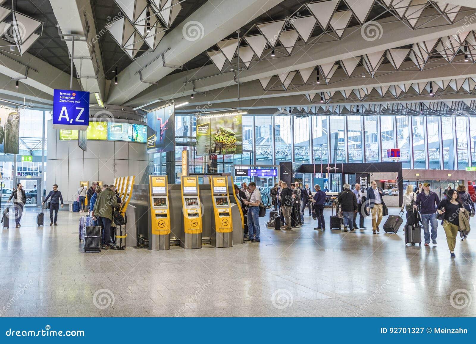 Airport Frankfurt Arrivals