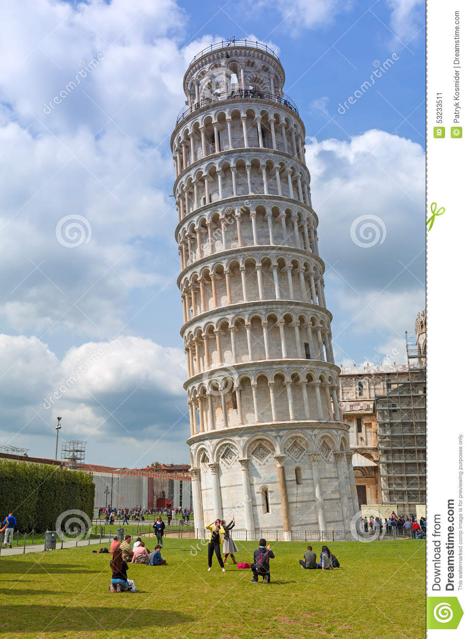 People at the leaning tower of pisa in italy editorial photo image 53233511 - Lego architecture tour de pise ...