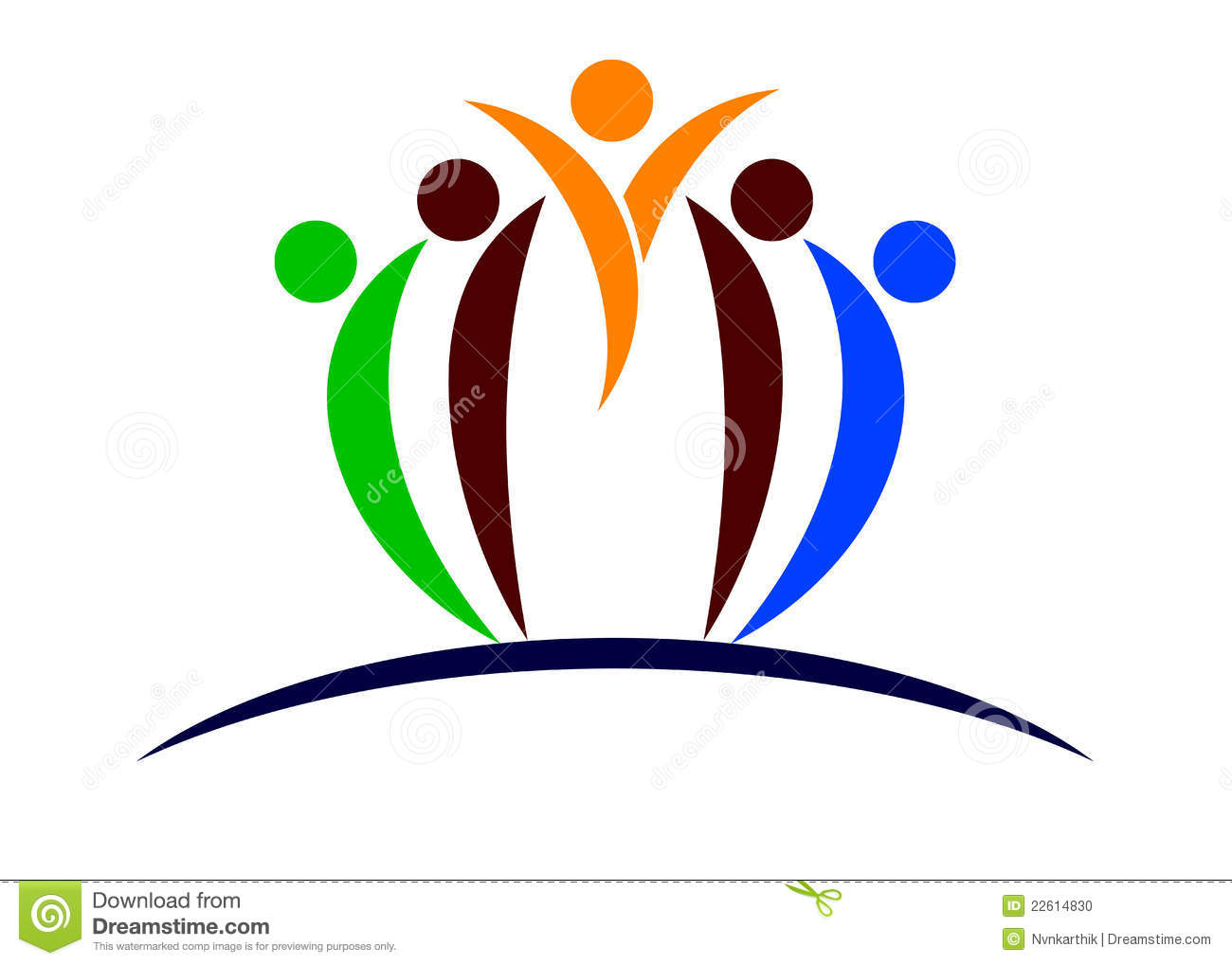 people logo illustration 22614830 megapixl