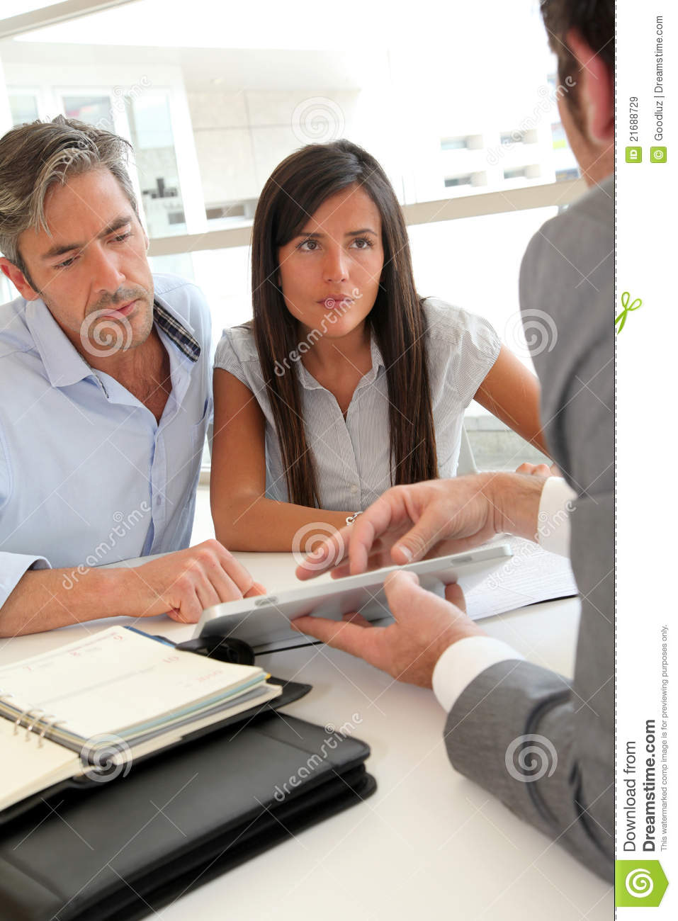 People Looking At House Plan Royalty Free Stock Images   Image    People looking at house plan
