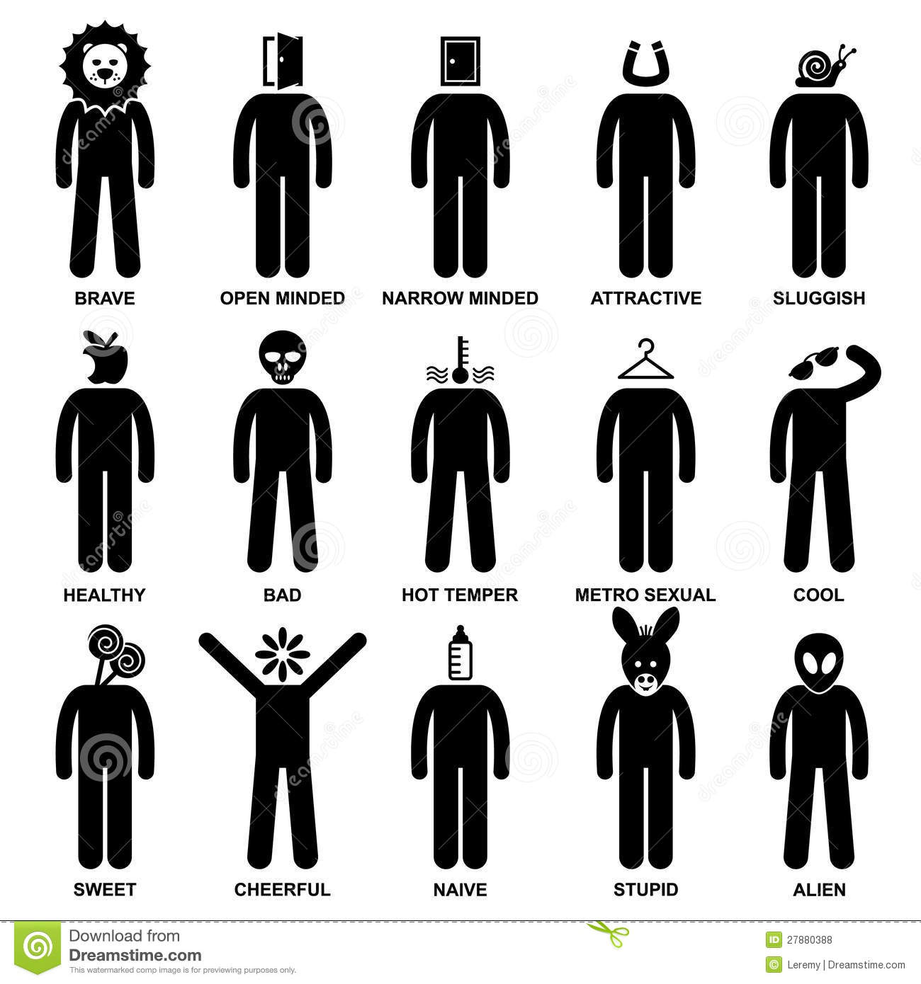 people-man-characteristic-attitude-pictogram-27880388.jpg (800×800)