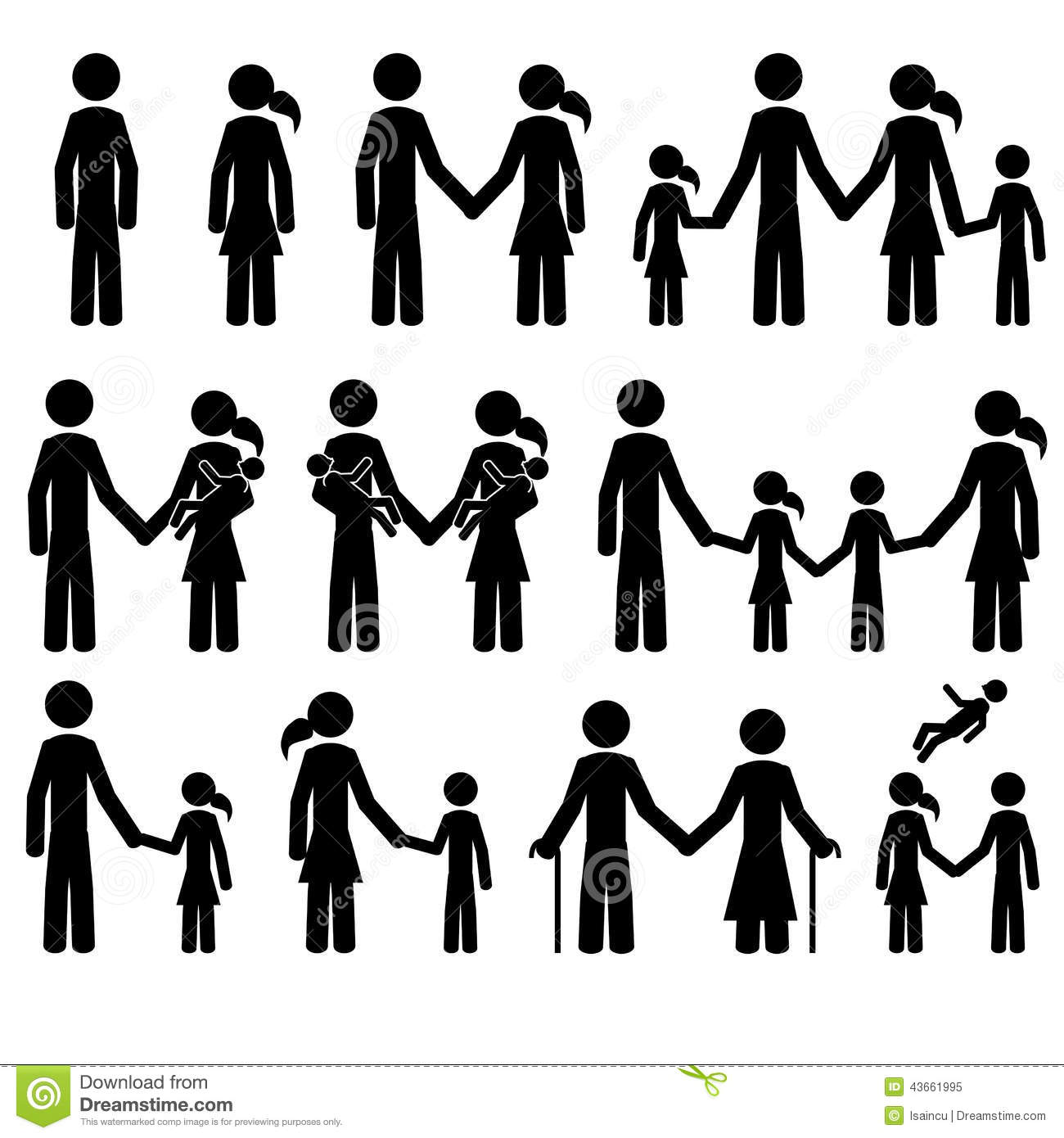 people stock vector. illustration of care, icon, couple - 43661995  dreamstime.com
