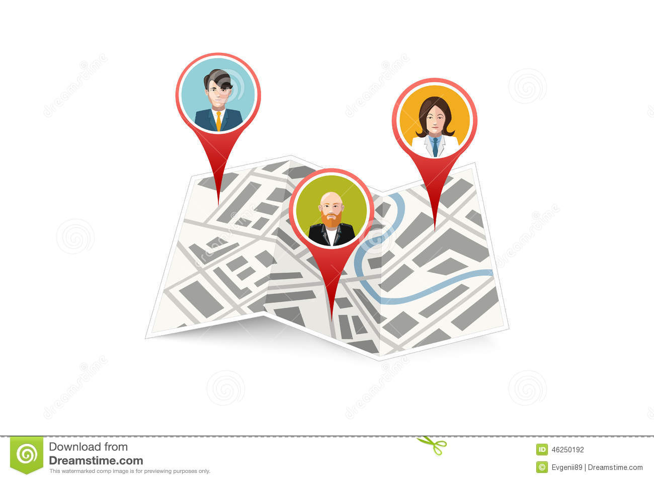 Icono Ubicacion Google Maps Png 3 Png Image: People On Map Gps Location Icon Isolated Stock Vector