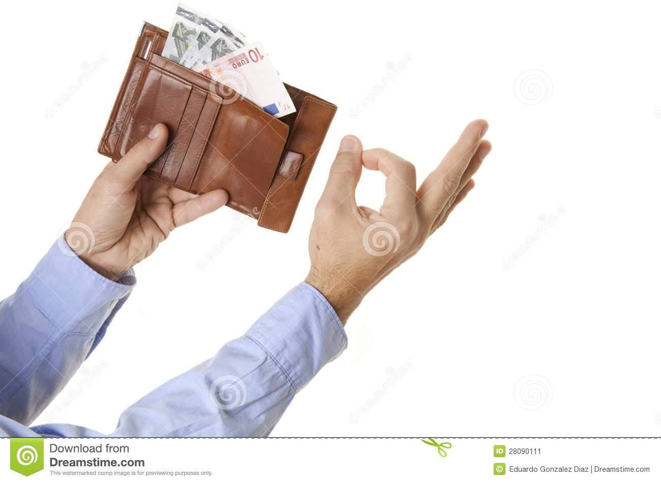 People With Money Stock Image 28090111