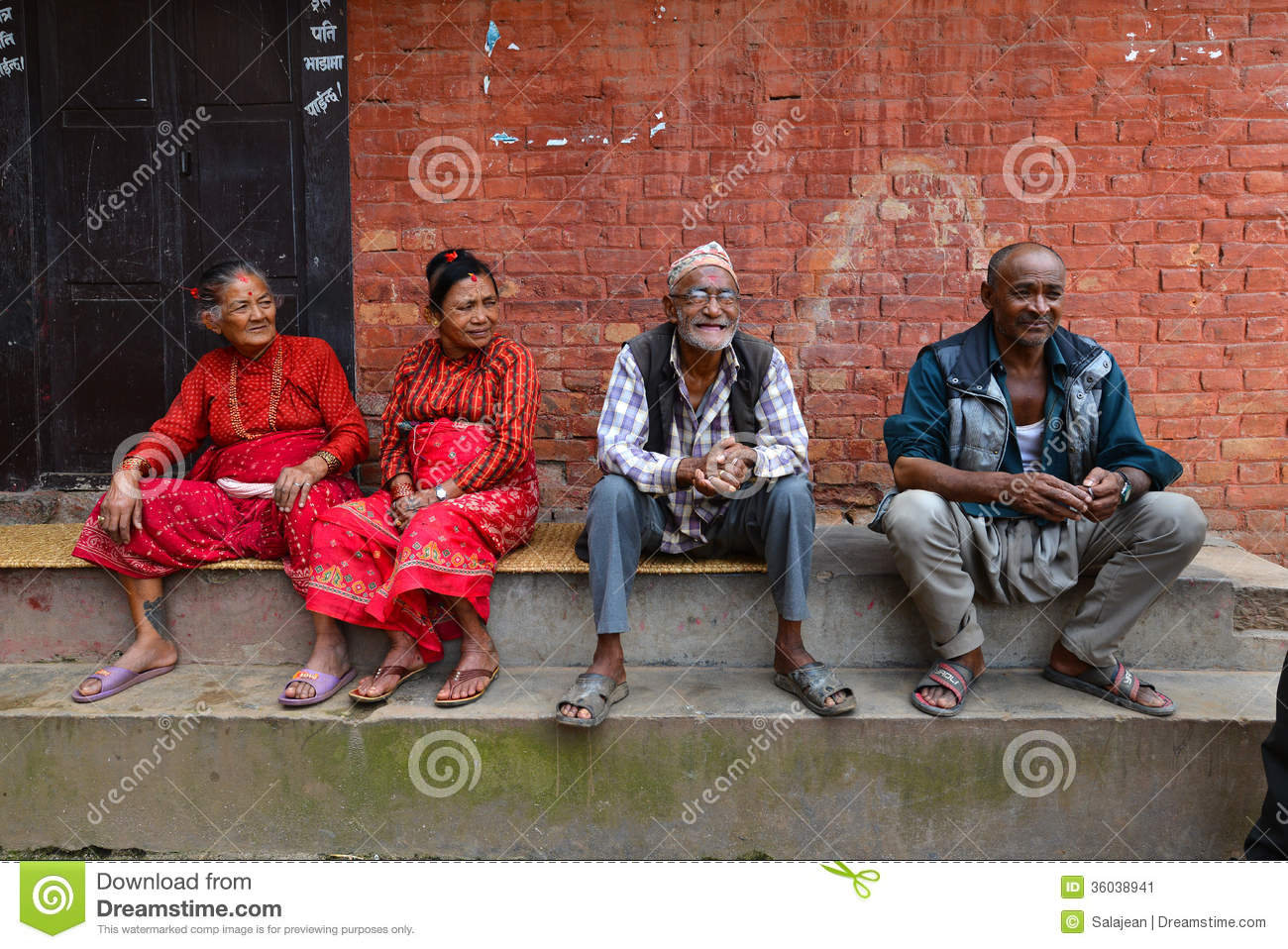 People From Nepal Editorial Photo Image 36038941