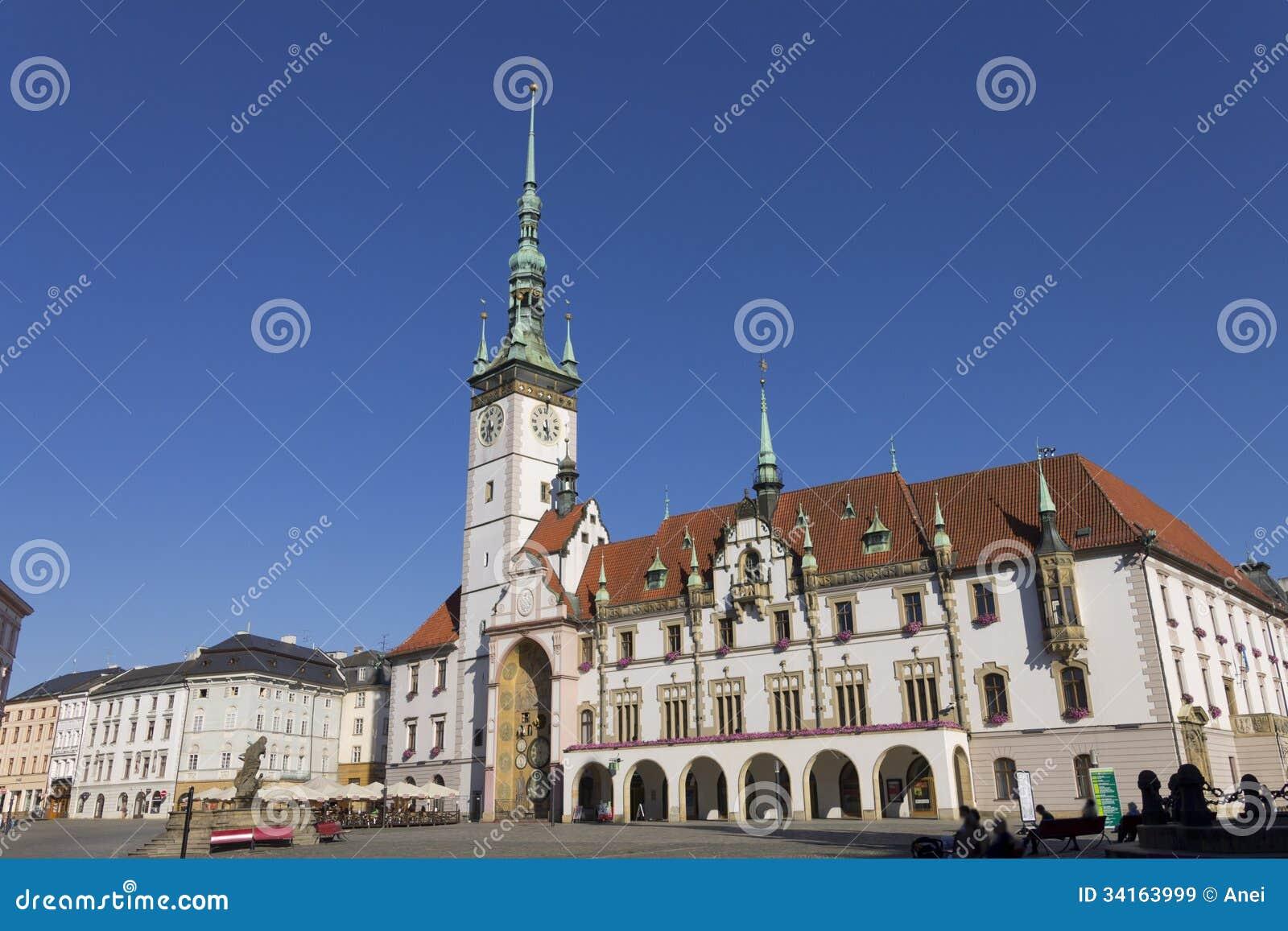 Panorama Of Olomouc City, Czech Republic Royalty-Free ...