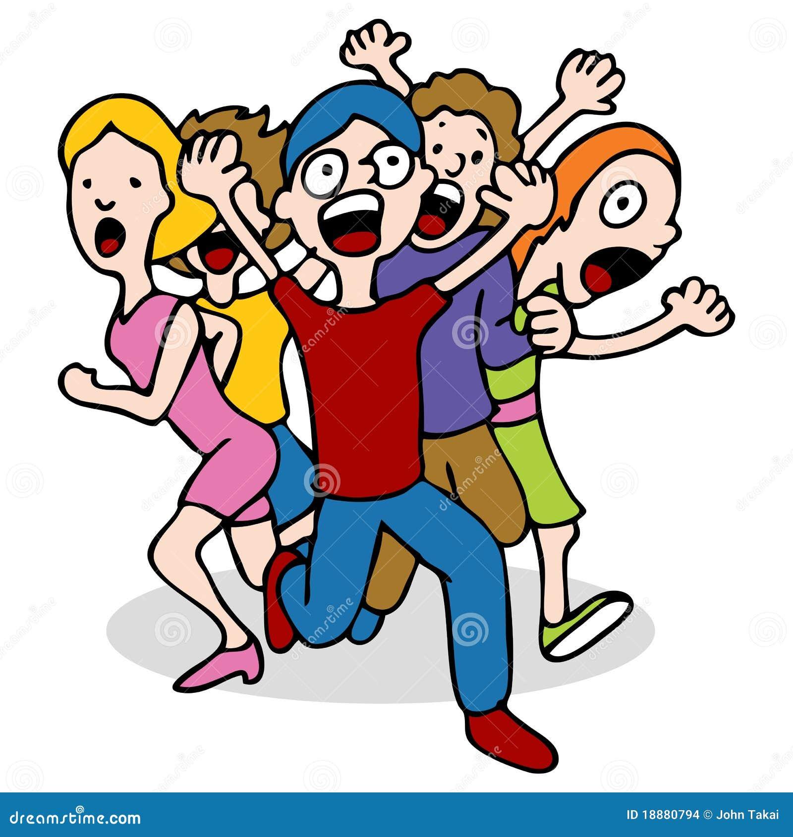 People Panicking Stock Images - Image: 18880794