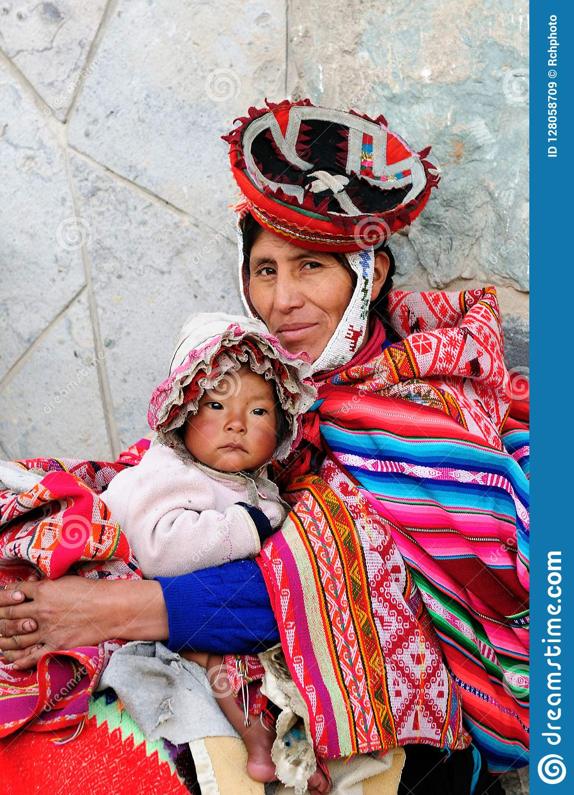 people from peru editorial stock image image of dress 128058709