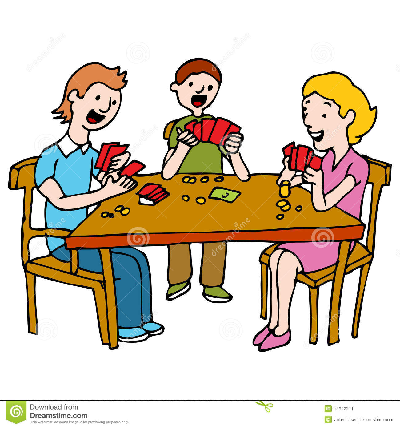 Man Playing Card Game Poker Stock Images - Image: 11035954