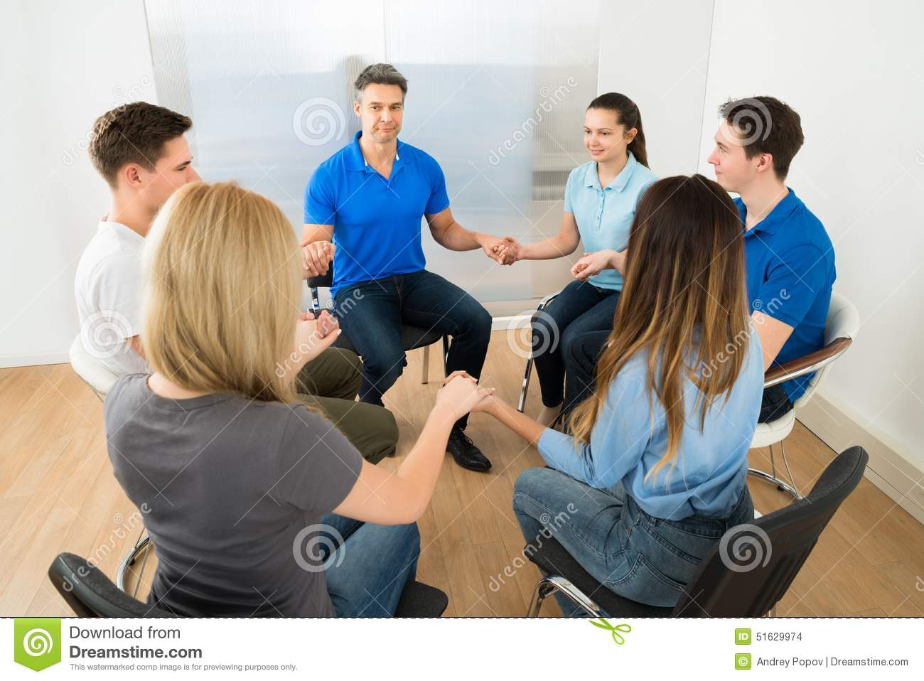 People praying together stock photo. Image of group, male ...
