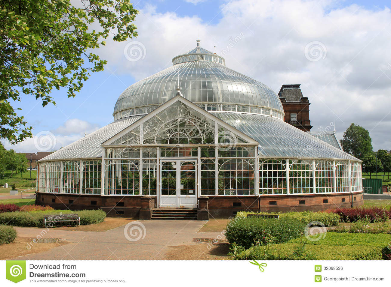 People 39 S Palace And Winter Gardens Glasgow Royalty Free