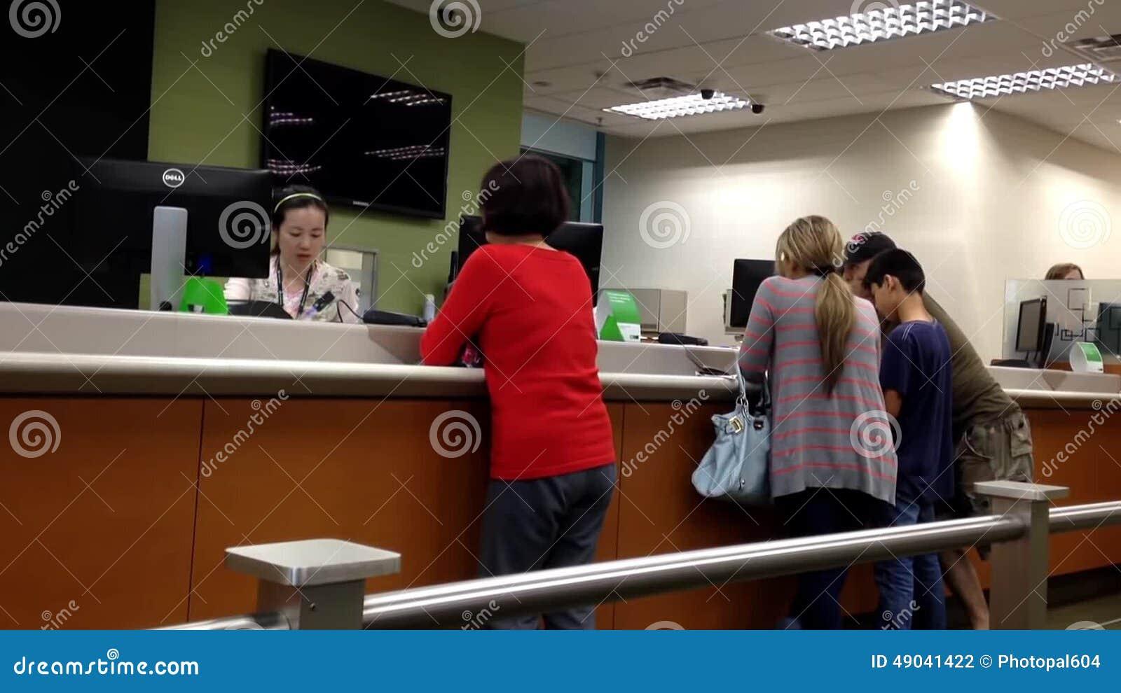 Dating my bank teller