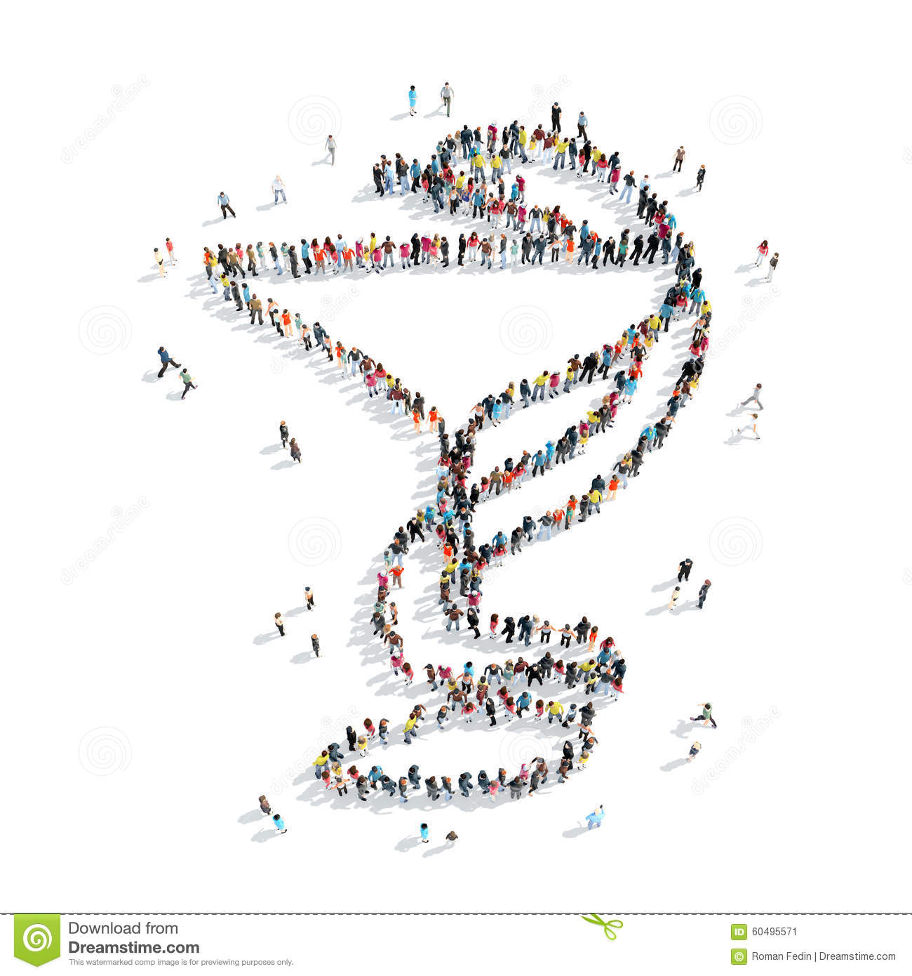 People shape serpent medical symbol stock illustration people shape serpent medical symbol buycottarizona Image collections