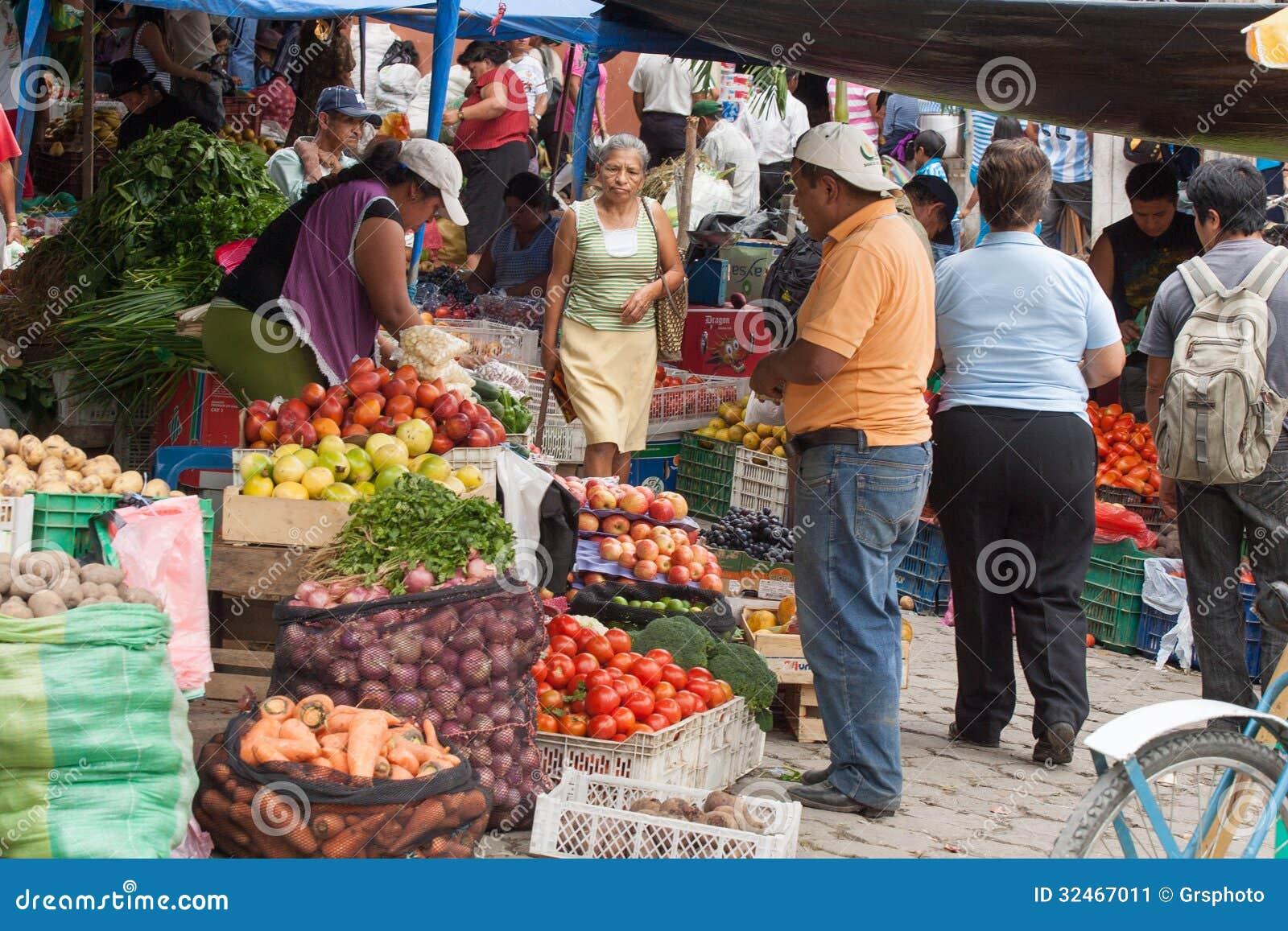 Otavalo Market Food