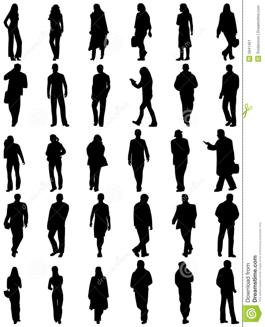 Architecture People people silhouettes stock image - image: 5841451