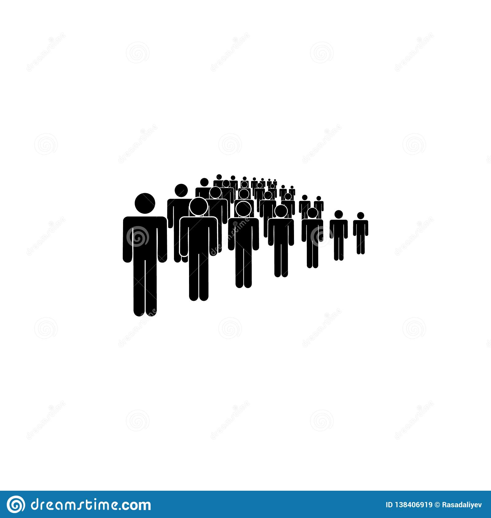 people, society, rank icon. Element of a group of people icon. Premium quality graphic design icon. Signs and symbols collection