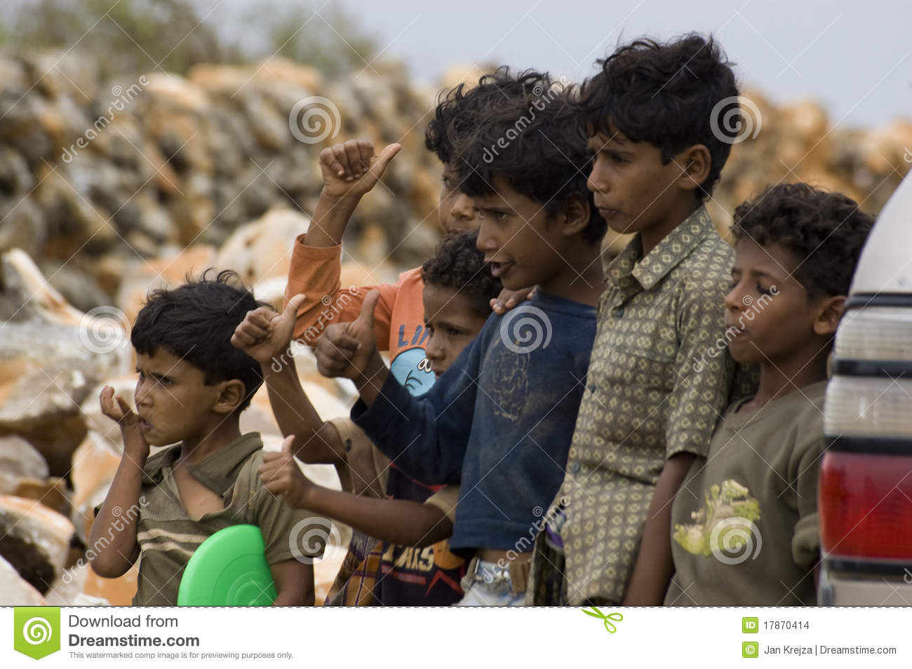 People Of Socotra Editorial Stock Image