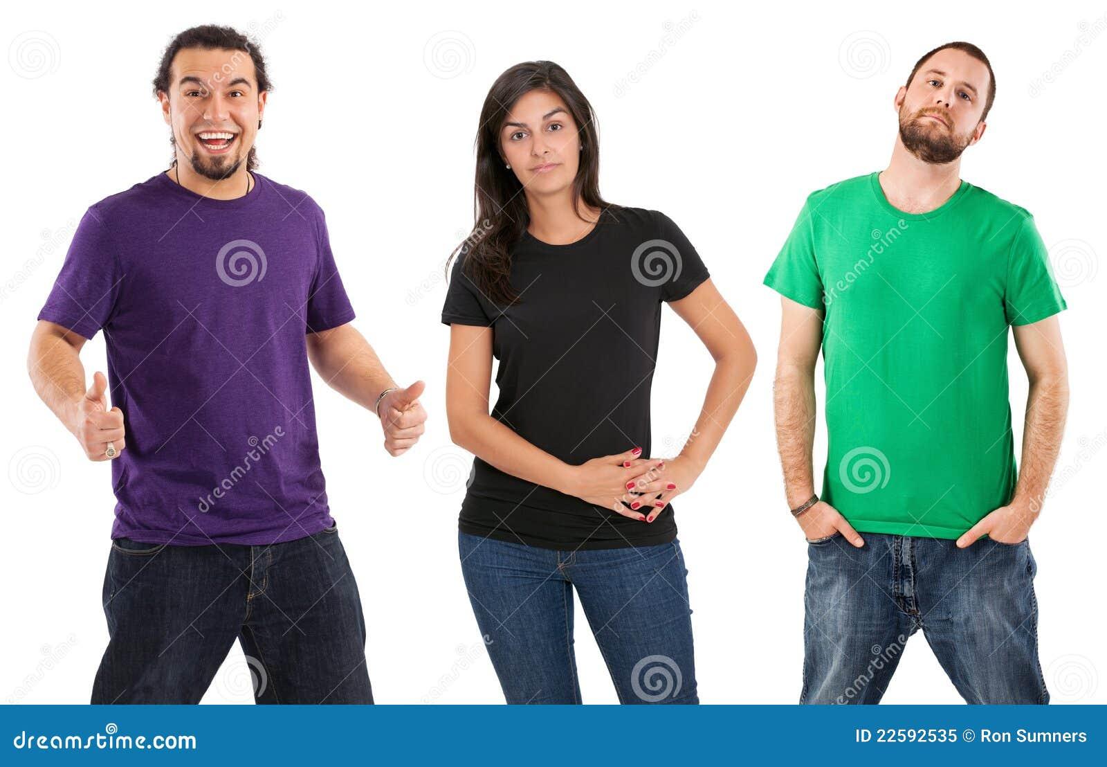 standing people blank shirts royalty stehen hemden leute unbelegten mit released model preview