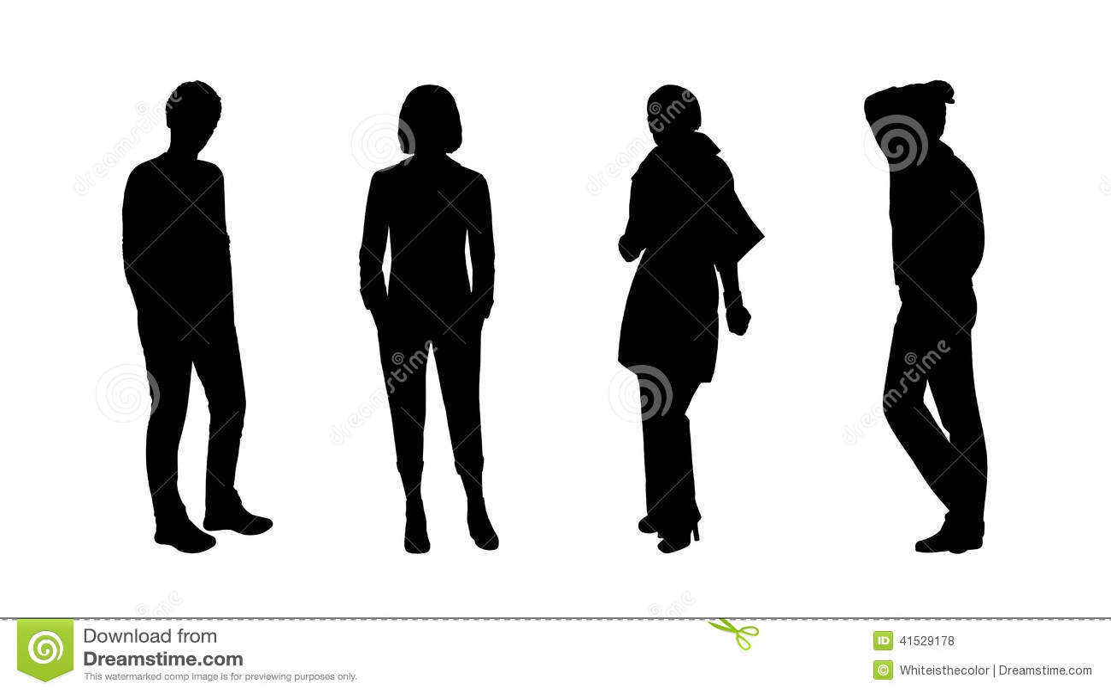 nude black woman standing profile