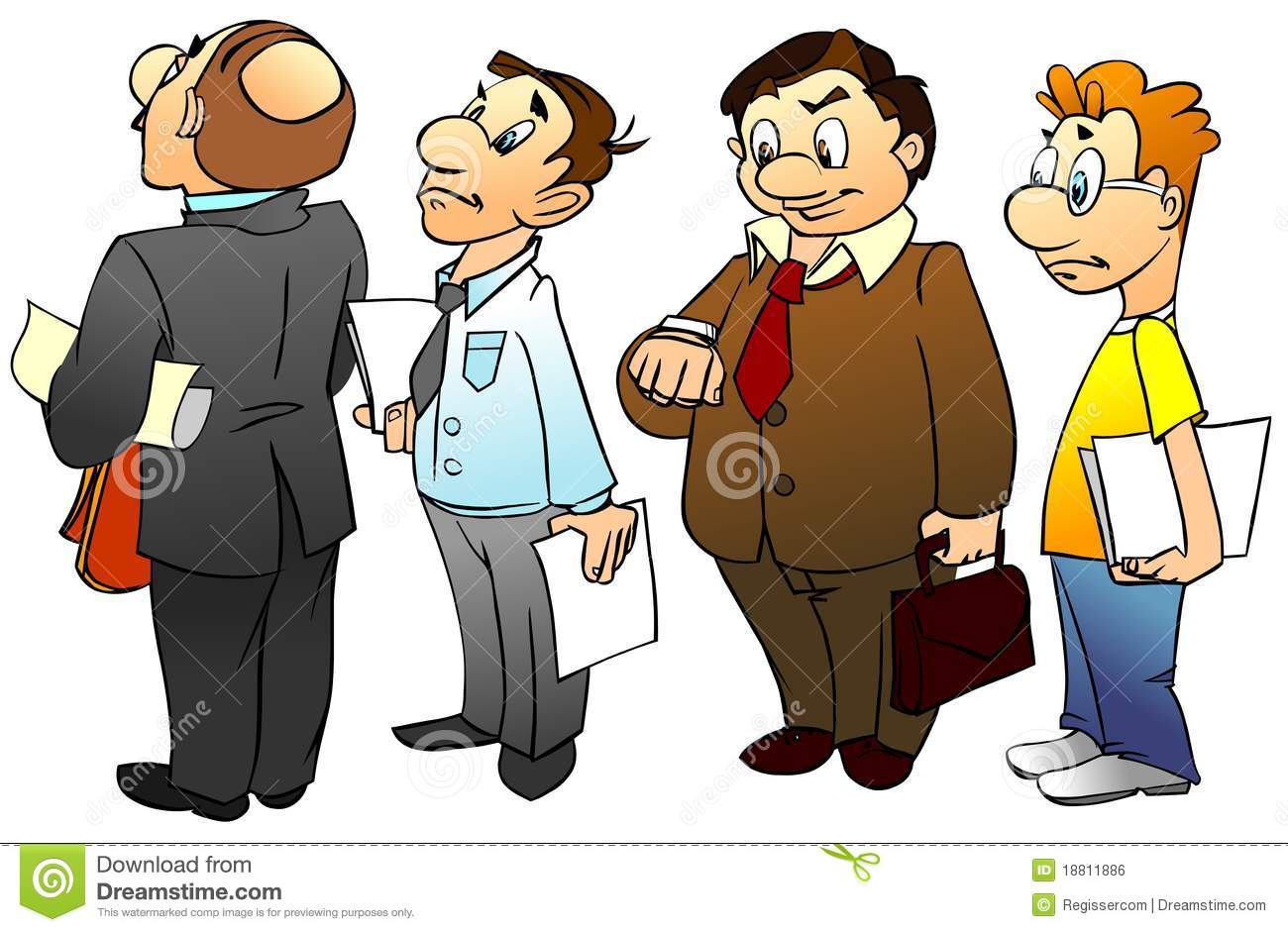People Standing In Queue Royalty Free Stock Image Image