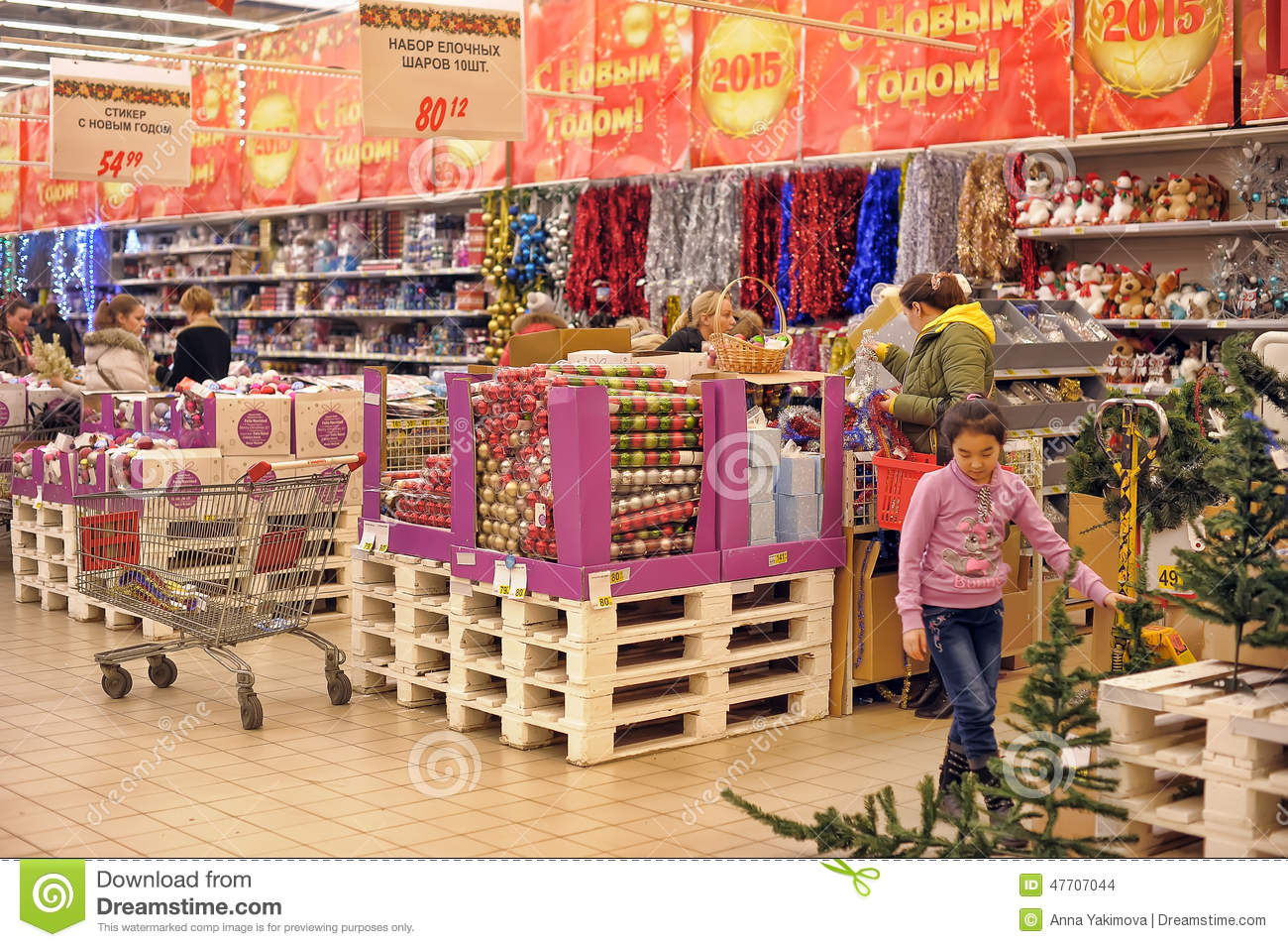 download people in the store to buy christmas decorations editorial stock image image of gift