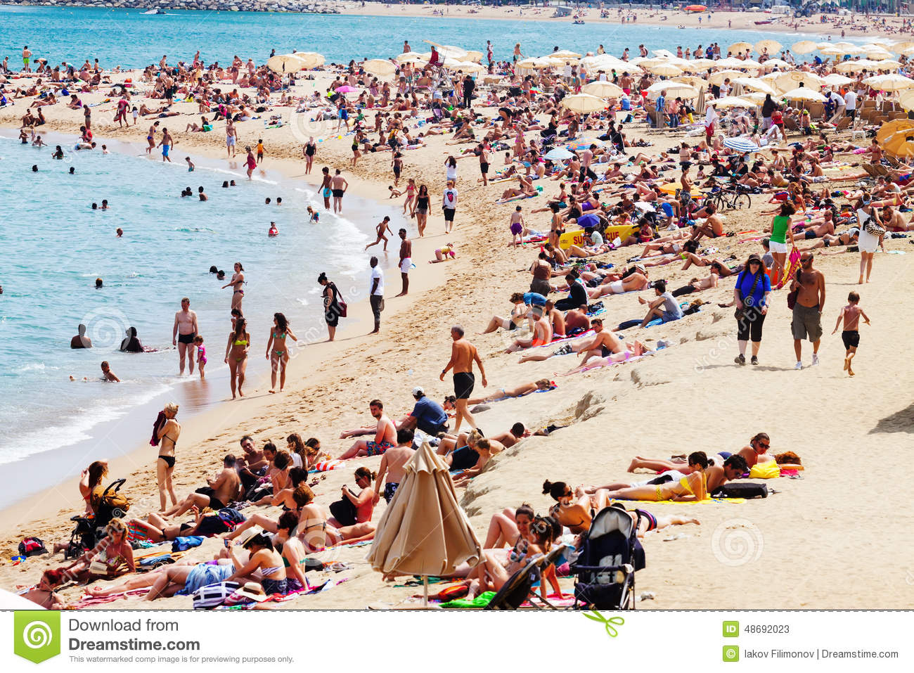 Spanish Beaches With People | www.imgkid.com - The Image ...